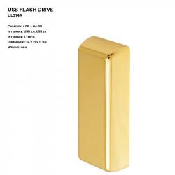 Metal ER BAR UL314A Pendrive