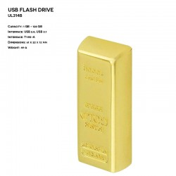 Metal ER BAR UL314B Pendrive