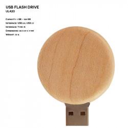 Wooden ER CIRCLE UL420...