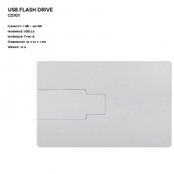 Plastic ER CARD CD101 Pendrive
