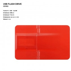 Plastic ER CARD CD103 Pendrive