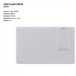 Plastic ER CARD CD107 Pendrive