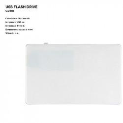 Plastic ER CARD CD110 Pendrive