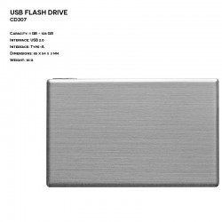 Metal ER CARD CD307 Pendrive