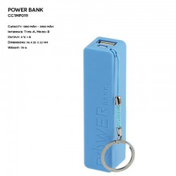 Plastic ER CLASSIC CC1MP019 Power Bank