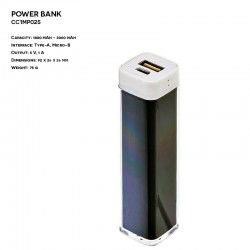 Power Bank ER CLASSIC CC1MP025 Plastikowy