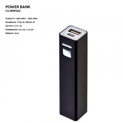 Metal ER CLASSIC CC3MP022 Power Bank