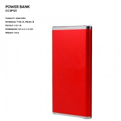Metal ER CLASSIC CC3P121 Power Bank