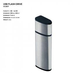 Plastic - Metal ER CLASSIC CC207 Pendrive
