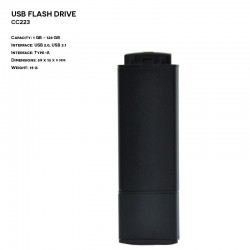 Plastic - Metal ER CLASSIC CC223 Pendrive