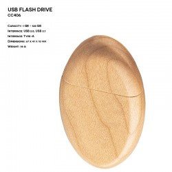 Wooden ER CLASSIC CC406 Pendrive