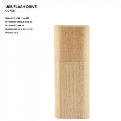 Wooden ER CLASSIC CC408 Pendrive