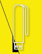 Pamięci Flash USB - Spinacz